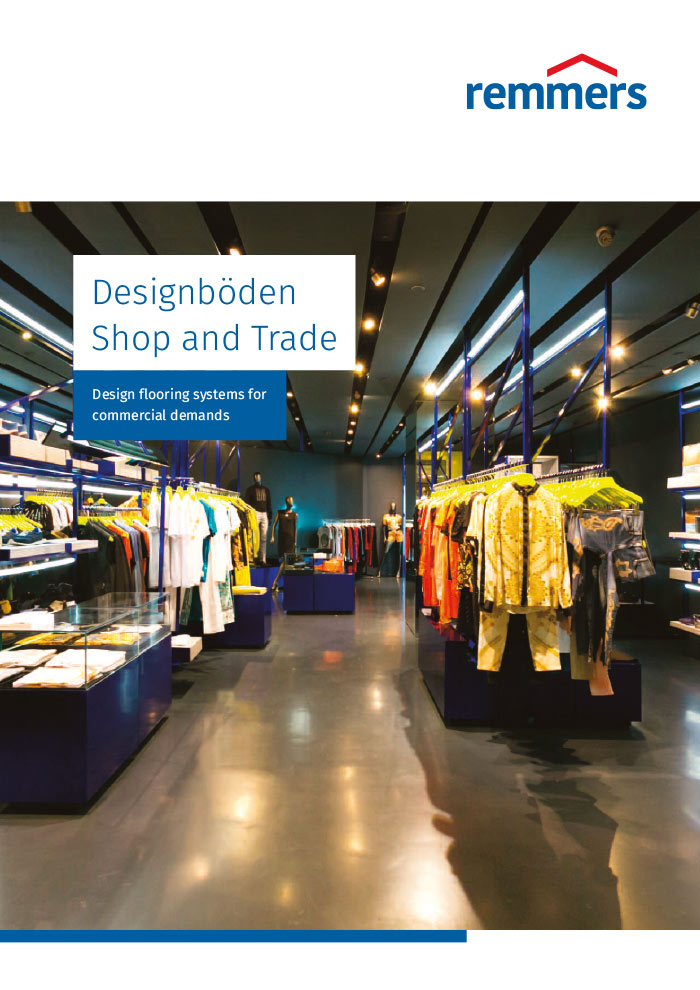 Designböden - Shop and Trade